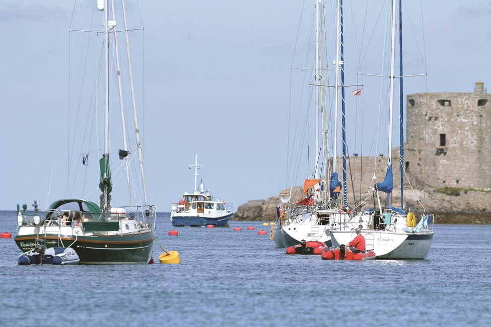 Yachts Visit Isles Of Scilly