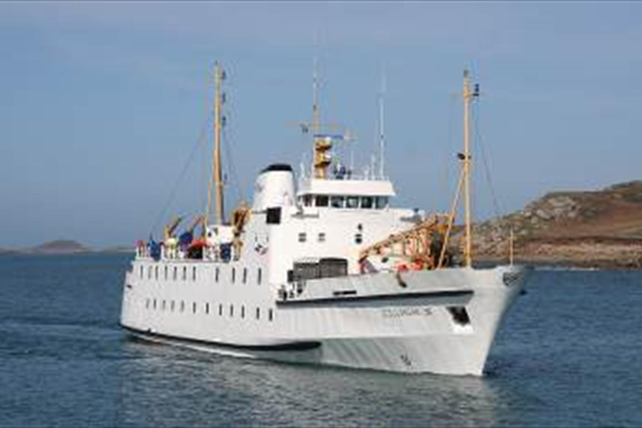 Scillonian III Passenger Ferry - Boat Trips & Tours in St  Mary's
