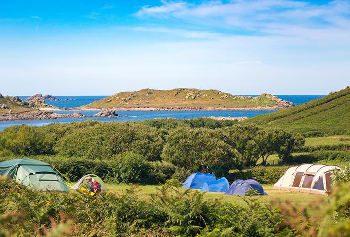 Bryher Campsite & Bell Tent Rental