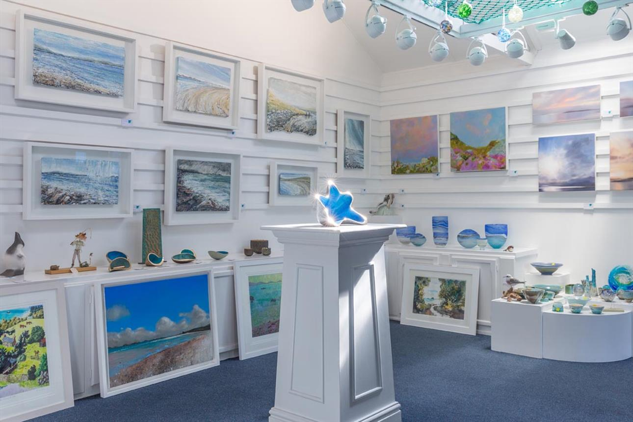 Interior of Gallery Tresco