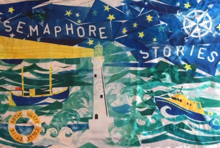 'Semaphore Stories' - sharing true tales of communication & rescue at sea