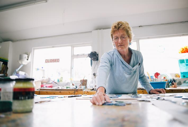 Fused Glass Workshop with Oriel Hicks